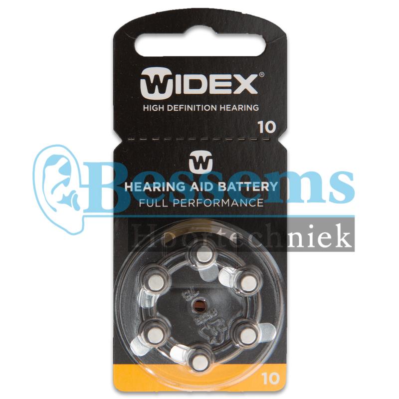 Bessems Widex batterij nr. 10 (geel)